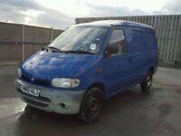 2001 Nissan VANETTE Van, Blue, 12 months MOT
