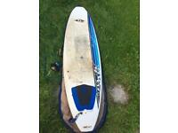 """7'3"""" BiC Surfboard And Bag"""