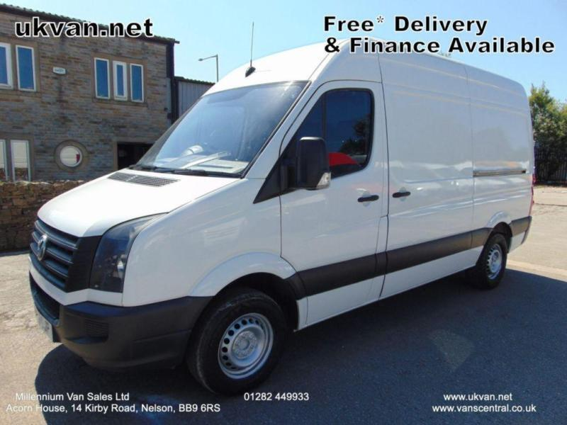 2013 13 VOLKSWAGEN CRAFTER MWB, ONE FLEET OWNER, VERY CLEAN THROUGHOUT, LONG MOT