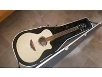 Yamaha apx 500ii acoustic and hard case