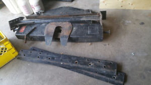 10000 lbs fifth wheel hitch all parts included