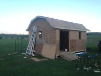 Carpentry and roofing!