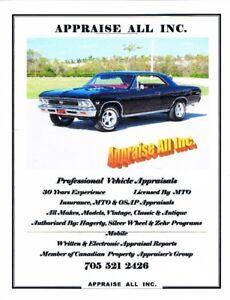 Antique / Classic Automobile & Motorcycle Appraisals