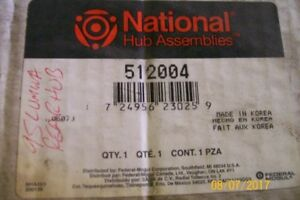 REAR HUB BEARING ASSEMBLY WITH ABS 512004 NATIONAL