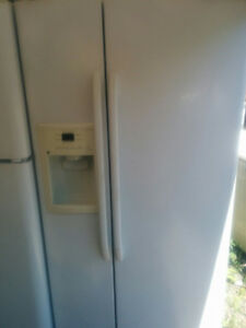FRIDGES:     side by side and Danby freezer