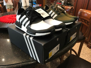 Adidas NMD R1 Trail White Mountaineering Black White - Size 10