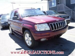 2001 JEEP GRAND CHEROKEE  4D UTILITY 4WD