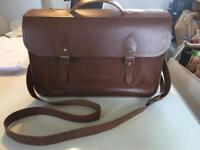 The Cambridge Satchel Company 15 Inch Leather Classic Batchel in Vintage Colour