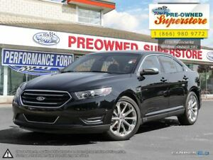 2016 Ford Taurus Limited>LEATHER, SUNROOF, AWD, NAV<