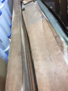 Ontario Cherry Boards Rough Cut Kiln Dried & Aged