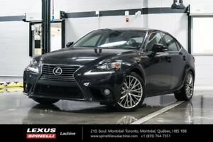2014 Lexus IS 250 PREMIUM AWD; CUIR TOIT CAMERA LOW MILEAGE - RE