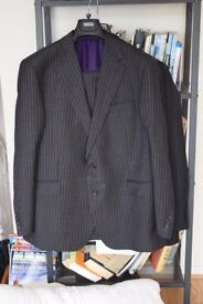 Man's M&S luxury pure wool suit. 44 inch chest, 38 inch waist,