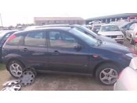 2000, FORD FOCUS LX, 1.6 PETROL, BREAKING FOR PARTS ONLY, POSTAGE AVAILABLE NATIONWIDE