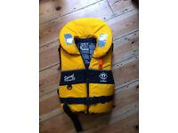 Crewsaver Spiral Adults Lifejacket Bouyancy Aid >40 KG 100N Large Sailing Kayaking