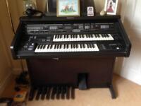 Technics SX-EX60 dual keyboard organ