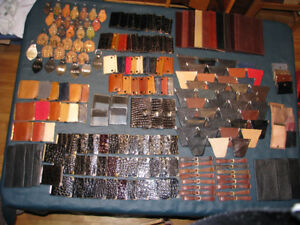 VARIOUS LEATHER ITEMS FOR FLEA MARKET SALES