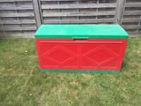 Plastic kids toy box