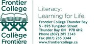 Become a Volunteer Tutor with Frontier College