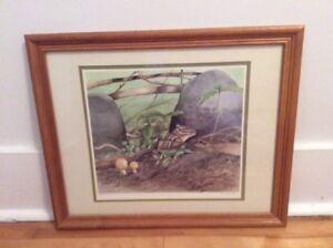 Canadian artist Paul Harpley Print ( certified )