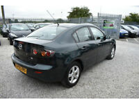 Mazda Mazda3 1.6 TS 4 DOOR+2006MY+GREEN+STUNNING