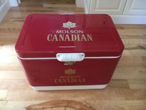 Molson Canadian 150 Anniversary Cooler- Vintage Style
