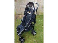 Maclaren XT single stroller in black