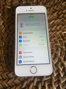 iPhone 5s 32gb Gold Rogers  mint