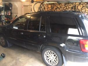 2004 Jeep Grand Cherokee cuir VUS