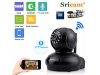 Genuine Sricam SP019 1080P HD Wireless IP Camera WiFi Security Night Vision IOS Android