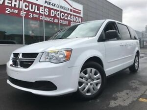 Dodge Grand Caravan SXT+CLIM-3-ZONE+STOWNGO+BLUETOOTH+WOW! 2016