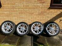 BMW M3/M4 640M Alloys with Continental Winter Tyres