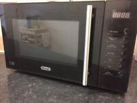 Black Delonghi Microwave