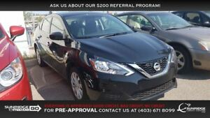 2016 Nissan Sentra 1.8 SV, NAVIGATION, BACKUP CAMERA, SUNROOF