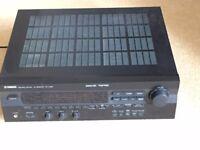 Yamaha Natural Sound AV Receiver (RX-V395) & Gale Sub 6 Subwoofer Speaker - £55 ONO
