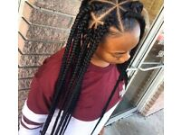Free braids, twists, weaves, in exchange for mini photo shoot, pics to go on my website
