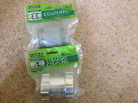 Marley Coupling and straight coupling 40mm new
