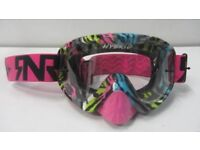 Motocross goggles Rip N Roll