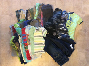 Lot of size 7 boy clothes
