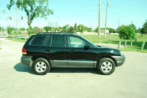 2005 Hyundai Santa Fe SUV, Crossover FWD pass safety V6