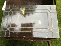 Leaded Glass pane - see photo for condition