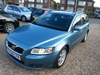 2008(08) Volvo V50 2.0D S 5dr Hpi clear, 02 keepers,long Mot,Full Service history