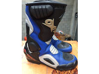 GENT,S OXTAR T.C.S.MOTORCYCLE BOOTS SIZE 8 MINT