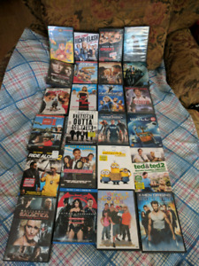 Assorted movie's all for75.00