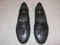 Ladies Black Slip-on Shoes (Brand New)