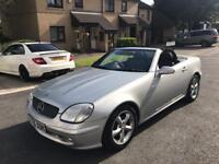 2001 X MERCEDES BENZ SLK 320 AUTO CONVERTIBLE TOP OF THE RANGE MUST SEE BARGAIN ELECTRIC ROOF BARGA