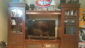 3 piece entertainment cabinet