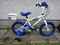 Boys bikes to suit age 2 to 5 years old £30 each Apollo Police bike, Disney cars boys bike
