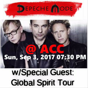 DEPECHE MODE @ACC –SUPER PRICED 100 LEVEL TICKET OPTIONS!
