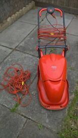 Flymo Hover mower in good working order with a spare power cable.