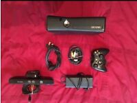 X Box 360 4gb with kennect